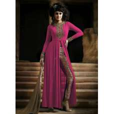 NAKKASHI 3021C ORIGINAL PINK COLOUR DESIGNER PARTY WEAR SUIT