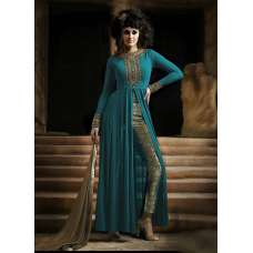 NAKKASHI 3021D ORIGINAL GREEN COLOUR DESIGNER PARTY WEAR SUIT