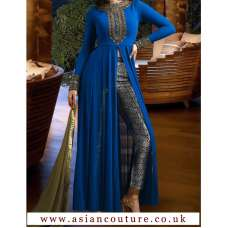 NAKKASHI R3021D  MASTER REPLICA BLUE COLOUR PARTY WEAR SUIT
