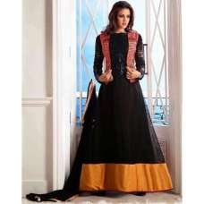 A-1003 Black ANARKALI ARIHANT DRESS
