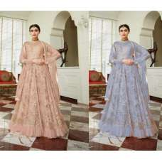 INDIAN WEDDING WEAR HEAVY EMBROIDERED ANARKALI DRESS