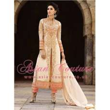 8006 BEIGE AAFREEN ADAA STYLISH ANARKALI SUIT