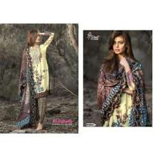 5004 ALI ZOHAIB GLAZED COTTON SALWAR KAMEEZ SUIT