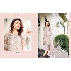 17003 PINK BAROQUE 2 BY DEEPSY GEORGETTE PAKISTANI STYLE SUIT