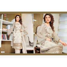 17001 CREAM BAROQUE 2 BY DEEPSY GEORGETTE PAKISTANI STYLE SUIT