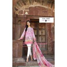 10009 PINK AND WHITE DEEPSY FLORENT-4 PURE CAMBRIC COTTON EMBROIDERED PAKISTANI SUIT