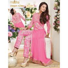 MS150B ROSE QUARTZ PINK COLOUR MAISHA MASKEEN GAUHAR KHAN SALWAR KAMEEZ SUIT