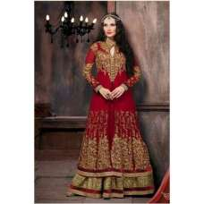 RED INDIAN BRIDAL DRESS