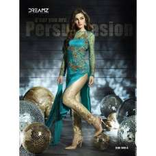 D5002-A Blue Dreamz Designer Dress