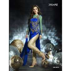 D5002-H Blue Dreamz Designer Dress
