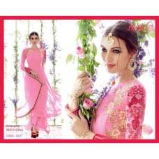 5307 Pink And Red Floral Heer Designer Suit