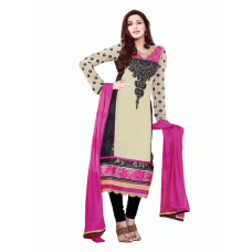 Black AAFREEN PARTY WEAR GEORGETTE CHURIDAR SHALWAR SUIT
