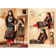 "Black AYESHA TAKIA ""BEGUM"" PARTY WEAR SHALWAR KAMEEZ"