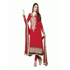 Red AAFREEN PARTY WEAR GEORGETTE CHURIDAR SHALWAR SUIT