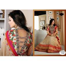 "CREAM BEIGE AYESHA TAKIA ""HUSAN"" WEDDING WEAR DESIGNER DRESS"