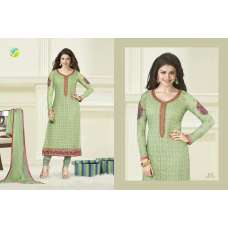 Green KASEESH PRACHI-6 PARTY WEAR SHALWAR KAMEEZ
