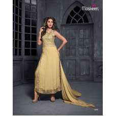 Gold MAISHA MASKEEN ADDICTION Designer Shalwar Suit
