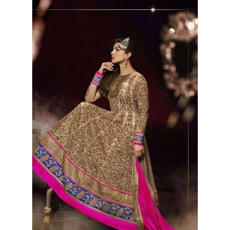 Gold And Pink Priyanka Chopra HEROINE Lime Light Designer