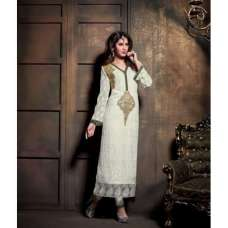 MA2106 Brilliant White DEBONAIR WITH MASKEEN WEDDING WEAR DESIGNER DRESS