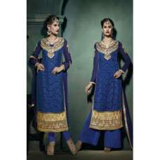 Blue Lilly Fiona Long Length Party Wear Salwar Kameez