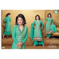 Sea Green HASEENA PARTY WEAR SHALWAR KAMEEZ
