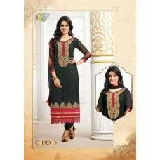 Black Tamanna 2 Georgette Long Length Salwar Kameez