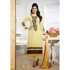 Cream Tamanna 2 Georgette Long Length Salwar Kameez