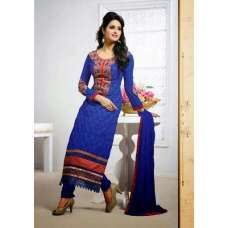 Dark Blue Tamanna 2 Georgette Long Length Salwar Kameez