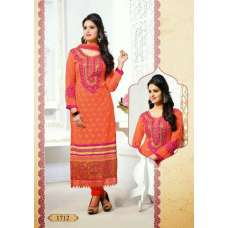 Orange Tamanna 2 Georgette Long Length Salwar Kameez