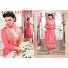 Peach Veera 3 GEORGETTE Casual Wear Salwar Kameez