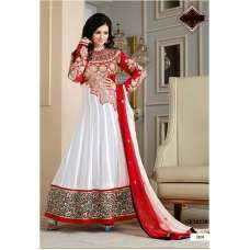"White and Red   AYESHA TAKIA ""HUSAN"" WEDDING WEAR DESIGNER DRESS"