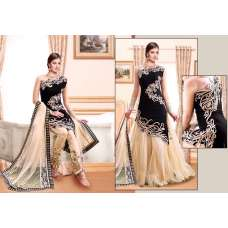 Black Z PLUS DETAILED EMBROIDERED WEDDING WEAR LENGHAS