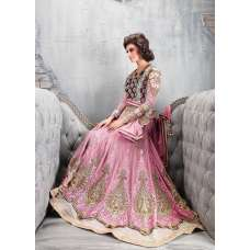 Zoya Pink Anarkali Dress And Wedding Wear Colour Plus-9007-C
