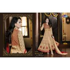 Beige 11001-B Ethnic Culture Gorgeous Wedding Dress