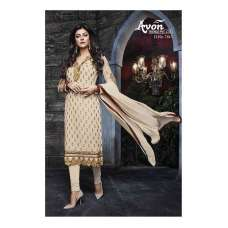 Beige AV7815 Stunning Avon With Sushmita Wedding Wear