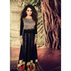Black Designer Gown By Indian Fashion Designer Archana Kochhar