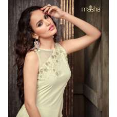 MA2202 White Maskeen Maisha Crush Dress