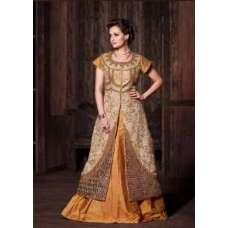 MP21005 Gold Brown Mohini Princess Wedding Wear