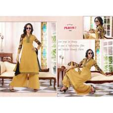 Yellow PALAZZO 2 PARTY WEAR DESIGNER DRESS