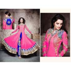 Pink Z1001 Zeel Gorgeous Long Flowing Dresses
