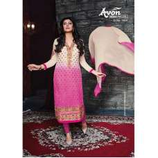 Purple With Beige AV7818 Stunning Avon With Sushmita Wedding Wear