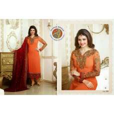 SUIT 2581 Orange KASEESH PRACHI 7