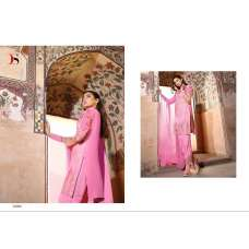 22006 PINK BAROQUE 3 BY DEEPSY GEORGETTE READY MADE EMBROIDERED SUIT IN MEDIUM SIZE