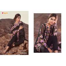 6001 BLACK ROSEMEEN BY FEPIC EMBROIDERED GEORGETTE SALWAR SUIT