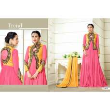 MF73014 PINK AND YELLOW COLOUR ELEZITA DESIGNER SALWAR KAMEEZ SUIT