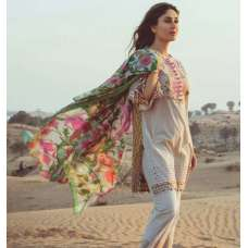 FM-13 ROSE GOLD KAREENA KAPOOR STYLISH SPRING SUMMER READY MADE LAWN SUIT