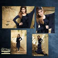 FMN-2078-A BLACK FEMEENA FOR GEORGETTE SALWAR SUIT
