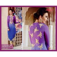 H5403 Purple HEER KIMORA WEDDING WEAR