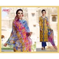 H5404 Yellow HEER KIMORA WEDDING WEAR