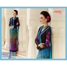 H5407 Blue HEER KIMORA WEDDING WEAR